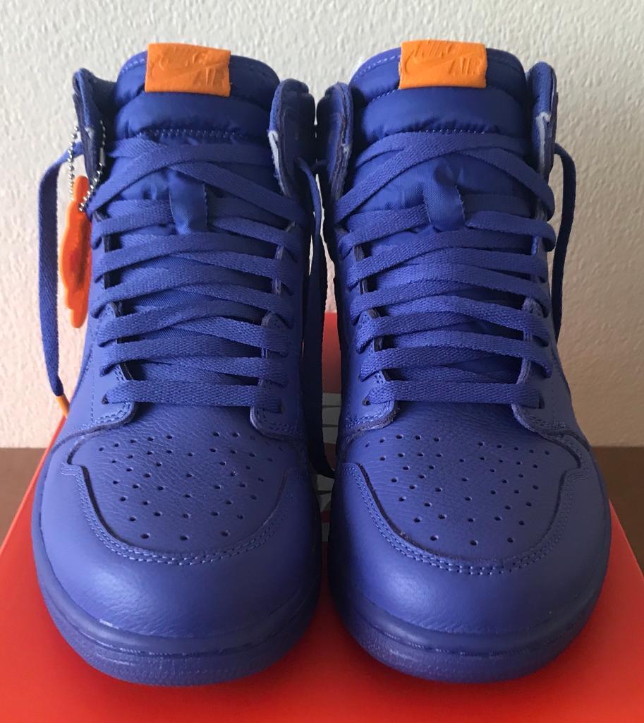 e656da73ac325b Nike Air Jordan 1 Retro High OG  Grape  UK 9.5 Purple - AJ5997 555 Gatorade