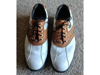 Mens Size 8.5 AQL Footjoy Golf Shoes (Very Good Condition)