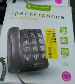 Big button speaker phone