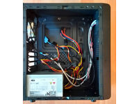 Very compact mATX case, 500W Power Supply, Power Cable & Anti-Vibration Fan Included!