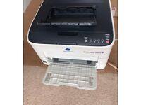 Konica Minolta MAGICOLOR 1600W A4 Colour Laser Printer with Toner