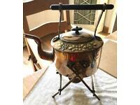 Victorian tea kettle