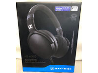 Sennheiser HD 4.30G Headphones Black or White Inline Remote Control Android Mobile Phone
