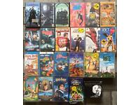 VHS Tapes 50p each as a lot or 70p each individually