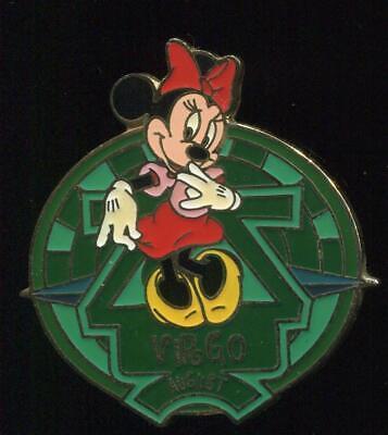 WDW Zodiac Virgo August 2001 Minnie LE Disney Pin 6082