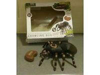 Realistic Ir Remote Controlled Crawling Bug