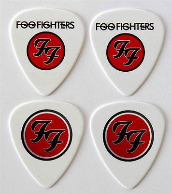 Foo Fighters Guitar Picks - Packet of 4 Plectrums