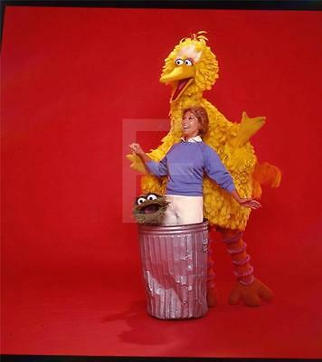 720K DINAH SHORE BIG BIRD SESAME STREET TV  Harry Langdon Transparency w/rights