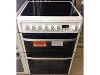 ***NEW Hotpoint 60cm wide electric ceramic cooker for SALE with 1 year warranty***