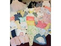 6-9month Preloved Summer Baby Clothes Bundle