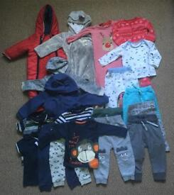 Boy's clothes bundle 9-12 months