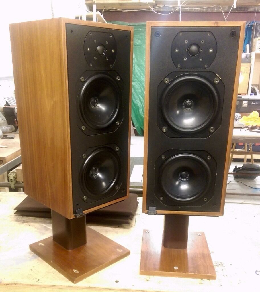 BW Bowers Wilkins DM14 Speakers With Stands