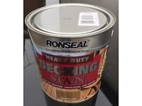 Ronseal Heavy Duty Decking Stain Country Oak 2 x 2.5 litre tins