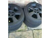 Vauxhall corsa sri alloys mint matching tyres