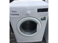 WHIRLPOOL 9kg WASHING MACHINE DISPLAY MODEL FREE DELIVERY AND WARRANTY