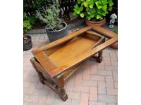 Old Charm by Wood Bros coffee table in need of some tlc for anyone wanting to renovate/upcycle
