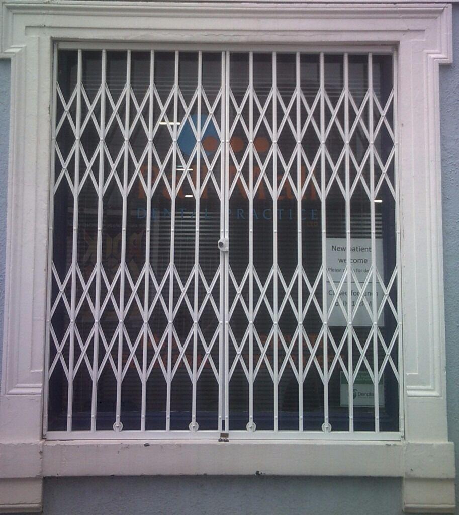 Window Amp Door Security Grilles Steel Bars Roller Shutters