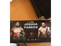 2 or 4 tickets to Anthony Joshua vs Joseph Parker, Cardiff
