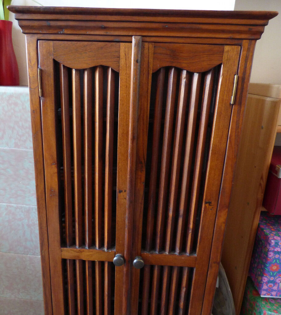 Wooden cabinet, £40 - collection only