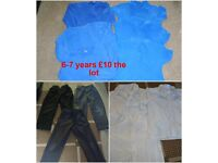 boys school uniform 6-7 years £10 smoke and pet free collection from didcot