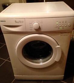BEKO A+A class washing machine.