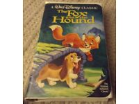 Walt Disney the fox and the hound video