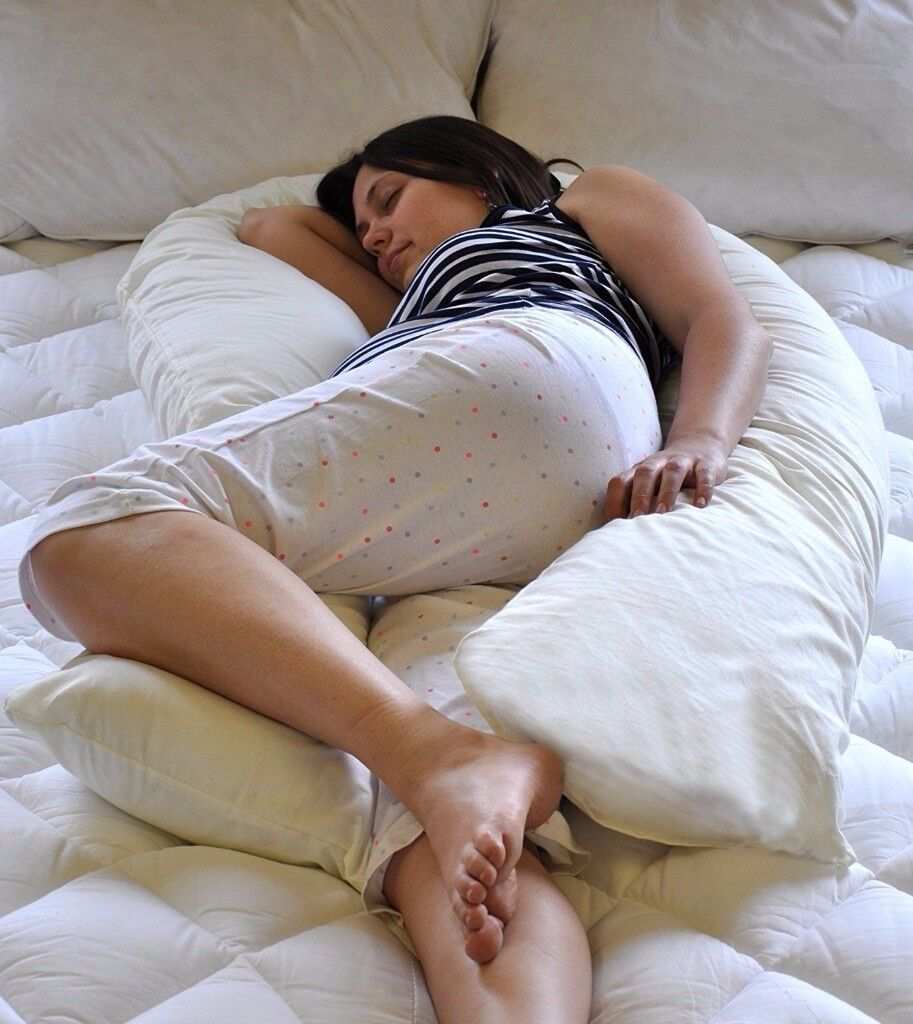 Maternity U-Shaped Pillow/Cushion - Used Very Briefly!