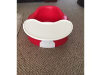 Red Bumbo Baby Seat