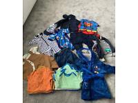 19 items - 6-9 months boys clothes bundle