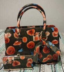 Brand New Matching Bag & Purse