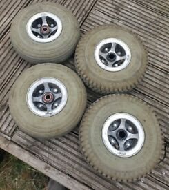mobility scooter wheels and tyres