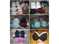 ladies bras various sizes from 36C to 40DD collection from didcot