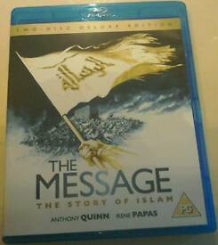 Blu-Ray Double-Discs Of The Story Of Islam, Called:-The Message.