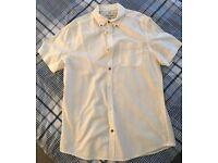 River Island Short Sleeve Shirt, Size M - £10