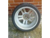 Tyres and wheel rims
