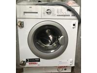 AEG Lavamat L61470BI Integrated 7Kg Washing Machine with 1400 rpm