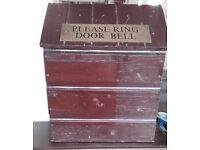 Wooden Letter/newspaper box