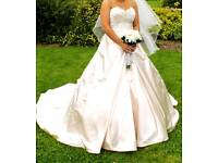 Sophia Tolli blush wedding dress SIZE 10