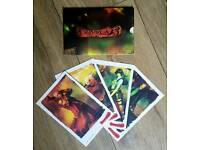 DEVIL MAY CRY 3 COLLECTORS CARDS