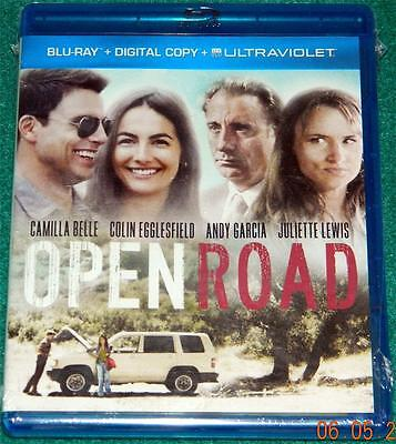 CAMILLA BELLE, ANDY GARCIA, JULIETTE LEWIS, Open Road, BLU-RAY, NEW