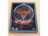 Disney Pixar Cars 2 Steelbook Blu Ray DVD - Excellent condition