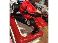 Bonito bebe kids baby walker formula 1 racing car style