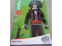 Senor Bones (Day of the dead) Mexican fancy dress outfit