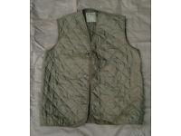British Army (Falklands War Era) Cold Weather Jacket Smock Liner / Gilet