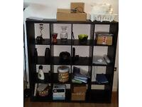 FREE to collect - IKEA KALLAX black bookcase