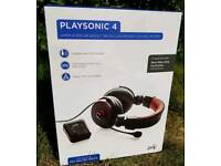 Playsonic 4 headsets - 9 Available