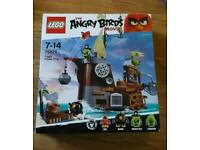 Lego angry birds pirate ship