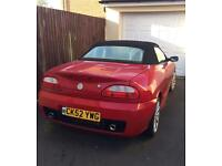 Mg TF 2002 Red 1.8 Spares or Repair