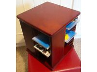Solid Wood CD revolving cabinet