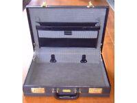 Briefcase, 'executive' style, combination lock